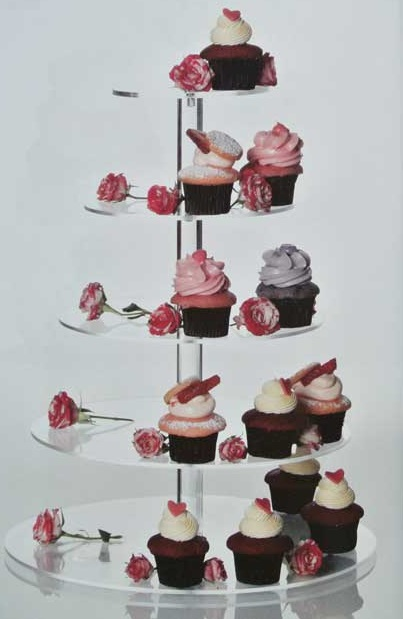 The 8 Tier Maypole Cupcake Stand is our best selling 8 tier cup cake stand. It is held together by central rod fixed with screws for strength and stability. & 8 tier round classic wedding Cupcake Stand