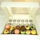 24 Window Cupcake Box ($4.50pc x 25 Units)