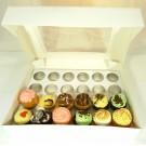 24 Window Cupcake Box ($4.50pc x 25 Units)