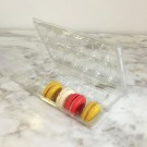 Clear Macaron Blister Box for 12 Standard Macarons - Pack of 20 Boxes
