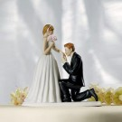 Cinderella Moment Wedding Cake Topper