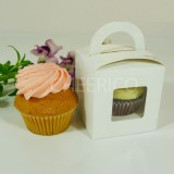 1 Cupcake Window Box with Handle($1.20/pc x 25 units)