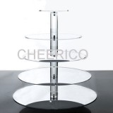 5 Tier Mirrored Effects Maypole Cupcake Stand